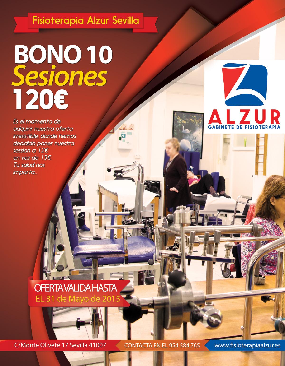 Oferta bono 10 sesiones 120€