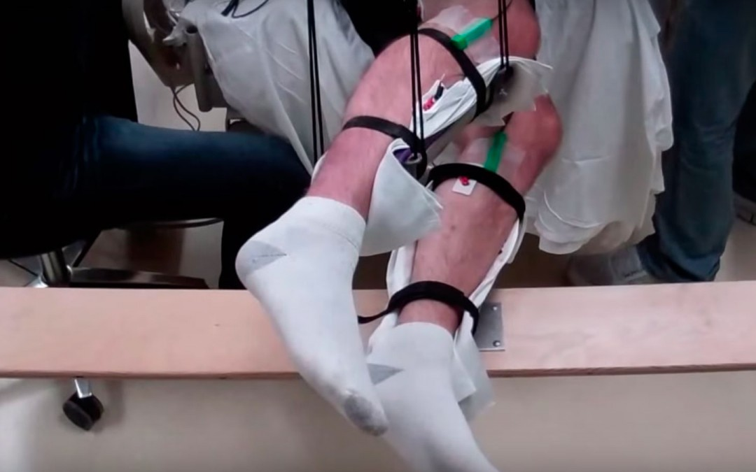 Nuevo tratamiento no invasivo permite a los hombres paralizados a moverse