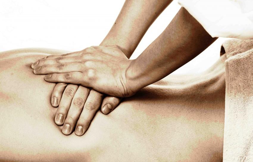 masaje terapeutico. 2